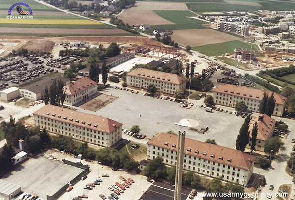 Amberg Germany  City new picture : Aerial of Pond Barracks, Amberg 1982 Dan Mathews