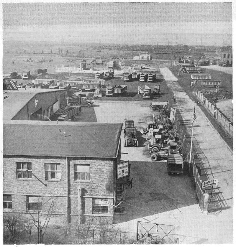 Usareur partial photos 3574th qm co for Walter motor truck company